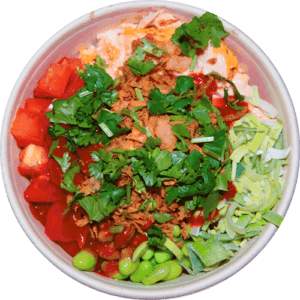 Signature Buddha Bowls by elena´s Spicy Salmon