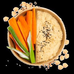 hummus-mit-gumüse-snack
