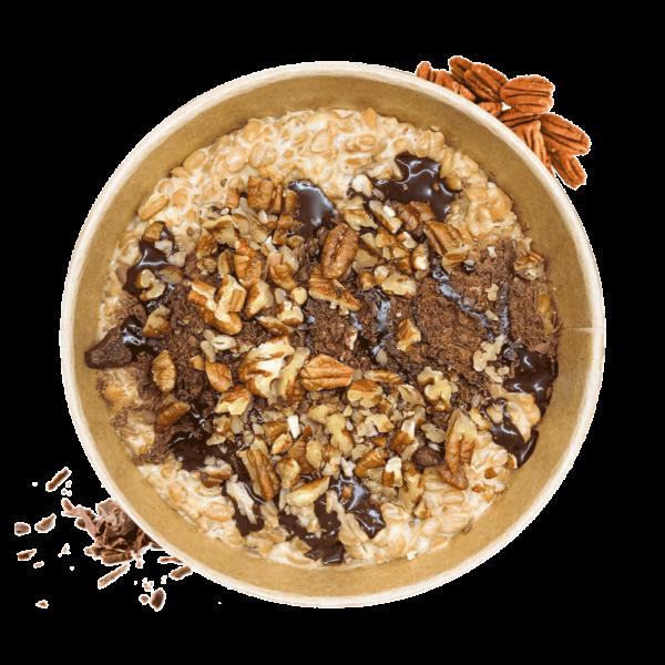 Dinkelreis - Peanut Butter mit Pekan Nüssen